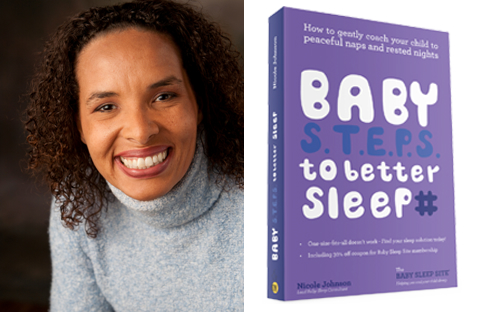 Ep. 91 How to get your baby to sleep better with baby sleep consultant Nicole Johnson