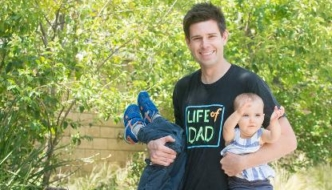 Ep. 92 How Ellen DeGeneres' Audience Warm-up Comedian Created a Social Network for Dads – with Life of Dad co-founder Tommy Riles