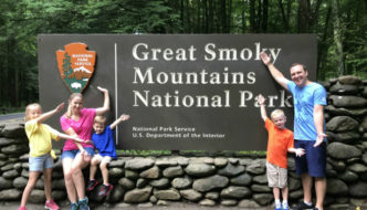 Our Home in the Clouds at Great Smoky Mountains National Park